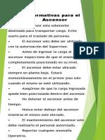 Normativas del Ascensor de Carga (1)