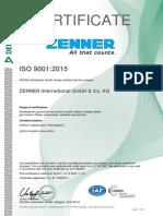 ZENNER ISO9001_Zenner_englisch