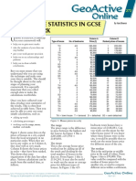 ga272 How to Use Statistics in GCSE Coursework -- Sept 2002 Series 14 Autumn issue Unit 272