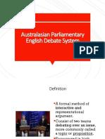 australasian-parliamentary-english-debate-system.ppt