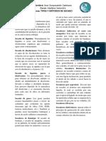 Tipos y metodos de secado.docx