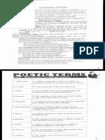 1 ESO - Poetry - Term 2