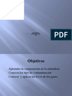 Atmósfera y Ley de los gases