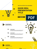 Good IDEA Free powerpoint templates - PPTMON.pptx