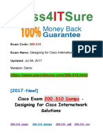 New Pass4itsure Cisco 200-310 Dumps PDF.pdf