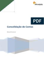 Consolidação de contas-Manual Funcional