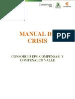 Manual de Crisis Consorcio EPS, Compensar  y Comfenalco Vall