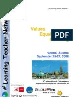 Vienna 2008 Conference Brochure