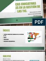 Políticas Educativas Regionales en La Gestión de Las Tic