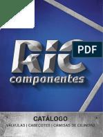 Ric Componentes Catalogo Válvulas 2016