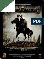 FORGOTTEN REALMS - PORTADA DE LA CAJA