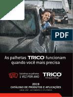 Trico Catalogo Palheta Limpador 2019
