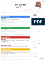 [CREATIVE CHECKLIST] YouTube