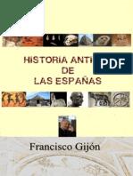 Historia antigua de las Espanas - Francisco Gijon