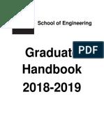 Graduate Handbook 2018-2019 ALLY