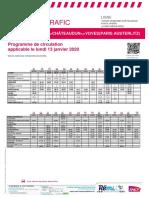 Info Trafic Axe i _ Tours-Vendôme-châteaudun-Voves (Paris) Du 13-01-2020 (v2)_tcm56-46804_tcm56-245721