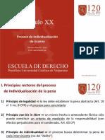 Capítulo 20 Proceso de individualización de la pena