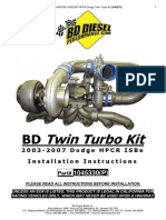BD Diesel Compound Turbo Install Dodge_2003-2007_HPCR_ISBe
