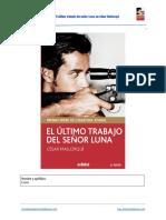 """Ficha de lectura de """"El último trabajo del señor Luna"""""""
