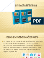 MEIOS DE Comunicação modernos.pptx