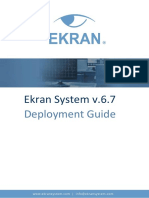 Ekran System Deployment Guide