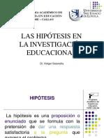 C_HIPÓTESIS EN LA IE .ppt