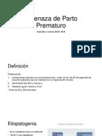 Amenaza de Parto Prematuro.pptx