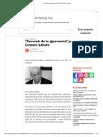 _Porvenir de la ignorancia_ por Ernesto Sábato
