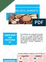 CANTIDAD DE PROTEINA EN EL ALIMENTO.pptx