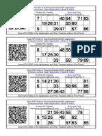 600+ Tambola ticket in hindi and English Printable FREE