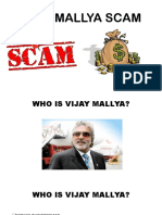 SCAMS BY VIJAY MALLYA.pptx
