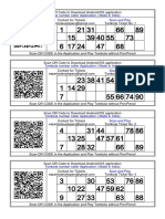 1000+ Tambola ticket in hindi English Printable FREE