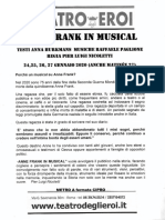Anne Frank - Teatro degli Eroi