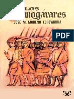 Los almogavares - Jose Maria Moreno Echevarria