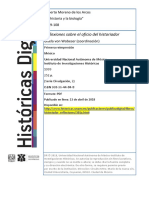 La historia y la biología por Roberto Moreno de los Arcos Reflexiones sobre el oficio del historiador