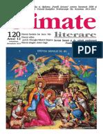 Climate Literare 120 noiembrie- decembrie 2019