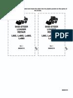 New Holland L865 , Lx865 , Lx885 , Lx985 Skid Steer Loader Service Repair Manual