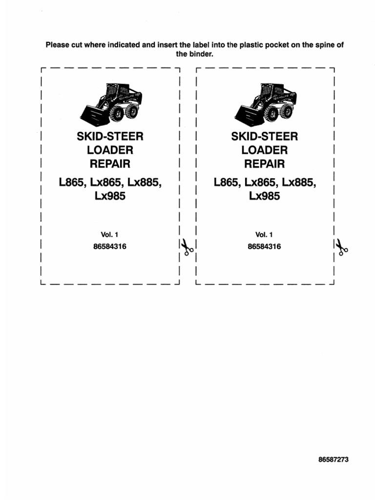 New Holland Skid Steer Isolator part number 9803221