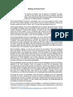 Diálogo de Paulo Freire