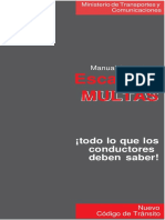 Manual de guantera - Escala de     multas MTC.docx