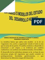 Enfoques o Modelos de Estudio Del Desarrollo Humano Terceros 1
