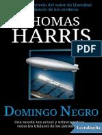 Thomas Harris - Domingo negro