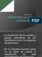 Protección de los lubricantes