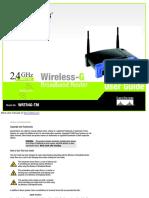 WIRELESS-G WRT54G-TM