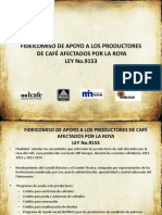 Informe Fideicomiso 2016