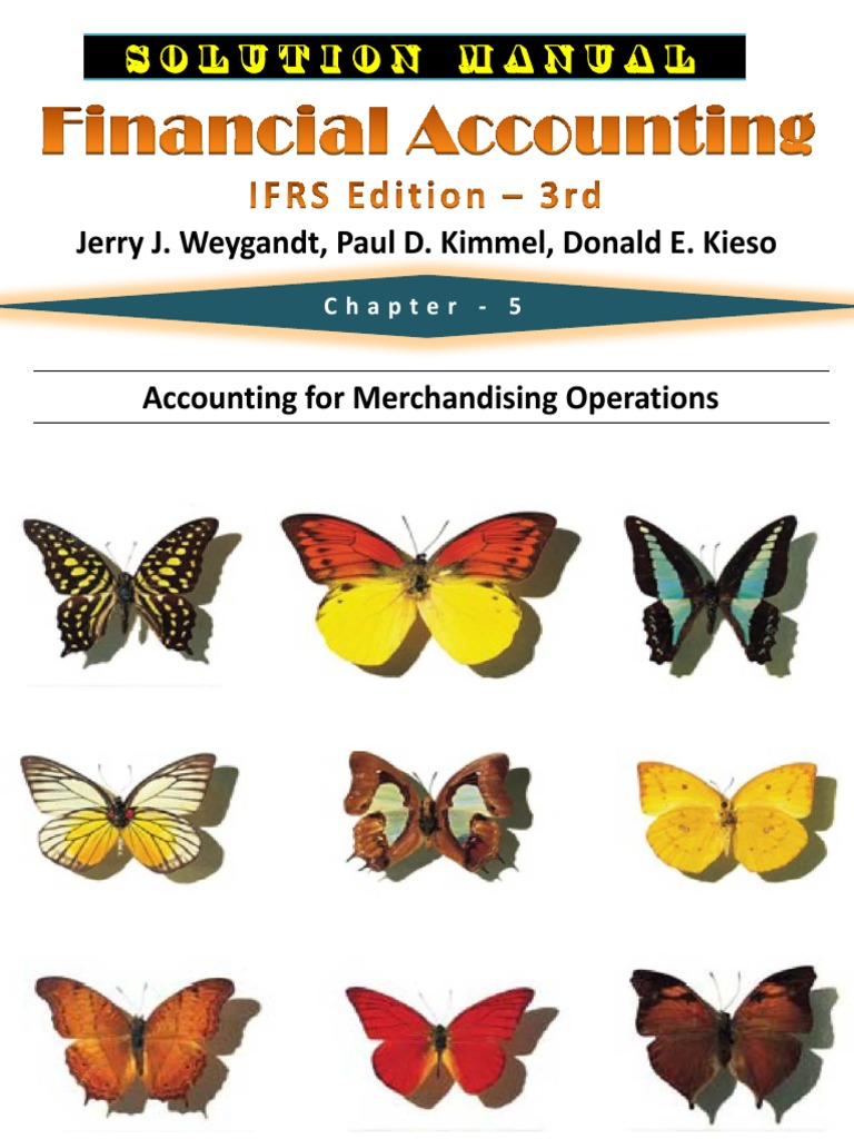 Financial Accounting Ifrs 3rd Edition Weygandt Solutions Manual 5 Pdf Debits And Credits Income Statement