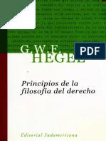 Hegel, G. W. F. - Principios de la filosofía del derecho.pdf