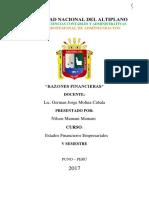 TRABAJO III UNIDAD EF - MOLINA