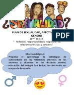 Afiche plan sexualidad