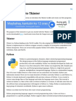 Introduction to Tkinter